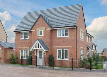 "Thumbnail 3 bed detached house for sale in ""Morpeth"" at Warkton Lane, Barton Seagrave, Kettering"