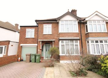 Thumbnail 4 bedroom semi-detached house for sale in Church Hill Road, North Cheam, Sutton
