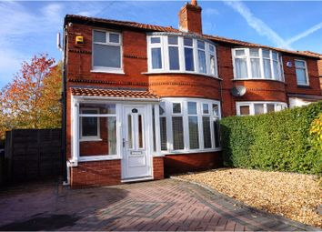 Thumbnail 3 bed semi-detached house for sale in Parrs Wood Road, Manchester