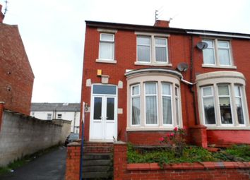 Thumbnail 3 bed end terrace house to rent in Keswick Road, Blackpool