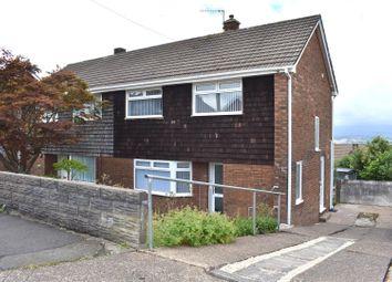 Thumbnail 3 bed semi-detached house for sale in Lan Coed, Winch Wen, Swansea