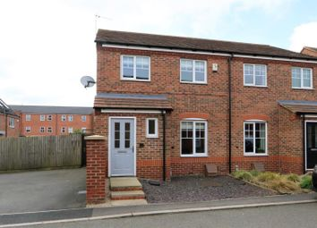 Thumbnail 3 bed semi-detached house for sale in Oak Crescent, Ashby-De-La-Zouch
