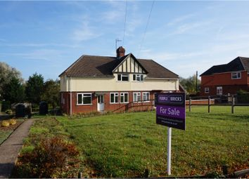 Thumbnail 3 bed semi-detached house for sale in Coronation Cottages, Great Wratting, Haverhill