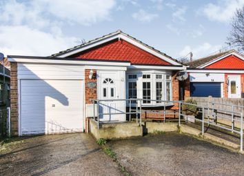 Thumbnail 2 bed detached bungalow for sale in Twyzel Road, Canvey Island