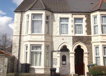 Thumbnail 3 bed flat to rent in Colum Place, Cathays, Cardiff