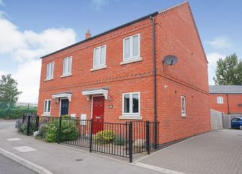 Thumbnail 2 bed semi-detached house for sale in Coltman Drive, Loughborough