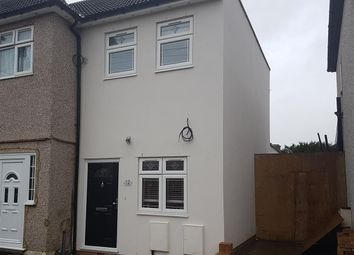 Thumbnail 1 bed end terrace house to rent in Arthur Road, Chadwell Heath, Romford