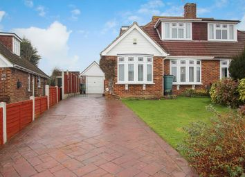 Thumbnail 3 bed semi-detached bungalow for sale in Madginford Road, Bearsted, Maidstone