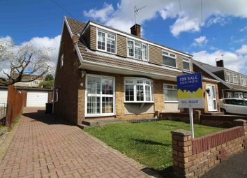 Thumbnail 3 bedroom semi-detached house for sale in Carmarthen Drive, Tonteg, Pontypridd