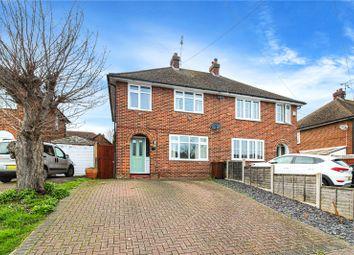 Thumbnail 3 bedroom semi-detached house to rent in Bedford Avenue, Rainham, Gillingham, Kent