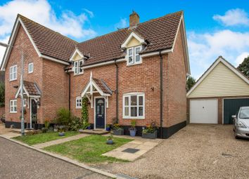 Thumbnail 2 bed semi-detached house for sale in Muir Drive, Hingham, Norwich