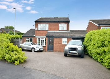 Thumbnail 3 bedroom detached house for sale in Pennine Close, Oadby, Leicester