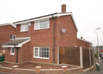 Thumbnail 3 bed detached house for sale in Ramsey Close, Forest Town, Mansfield, Nottinghamshire