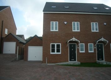 Thumbnail 4 bed semi-detached house for sale in Plantation Hill, Worksop