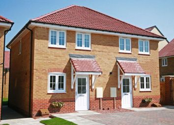 "Thumbnail 2 bed semi-detached house for sale in ""Ashford"" at Michaels Drive, Corby"