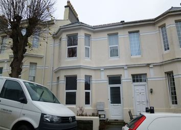 Thumbnail 1 bed flat to rent in Pentyre Terrace, Plymouth