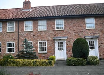 Thumbnail 2 bed terraced house for sale in Church Mill Close, Market Rasen