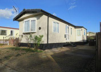 Thumbnail 1 bed mobile/park home for sale in Pioneer Caravan Site, Eye, Peterborough
