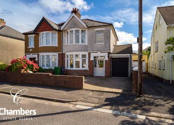 3 bed semi-detached house for sale in Maelog Road, Whitchurch, Cardiff CF14