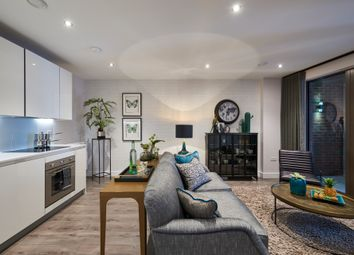 Thumbnail 1 bed flat for sale in Burdett Road, London