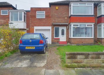 Thumbnail 3 bed semi-detached house for sale in Longridge Avenue, Cochrane Park, Newcastle Upon Tyne