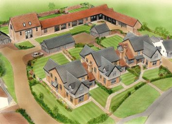 Thumbnail 4 bed detached house for sale in School Lane, Mepal, Ely