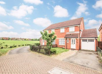 Thumbnail 3 bed semi-detached house for sale in Voyce Way, Bedford