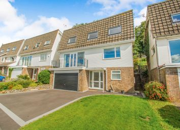 Thumbnail 4 bed detached house for sale in Royal Oak Close, Machen, Caerphilly