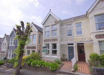 Thumbnail 3 bed terraced house for sale in Edgcumbe Park Road, Plymouth