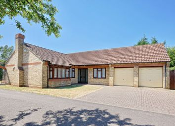 Thumbnail 3 bed detached bungalow for sale in The Paddock, Huntingdon, Cambridgeshire.
