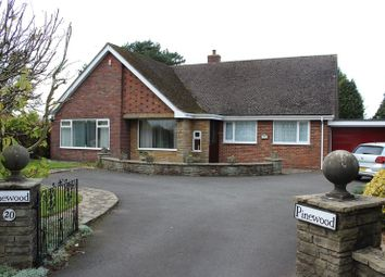 Thumbnail 3 bed bungalow for sale in Cresswell Lane, Draycott, Stoke-On-Trent