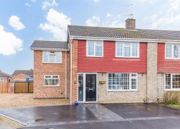 Thumbnail 4 bed semi-detached house for sale in Birch Close, North Hykeham, Lincoln