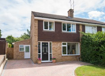 Thumbnail 3 bed semi-detached house for sale in Normandy Drive, Berkhamsted