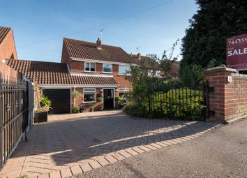Thumbnail 5 bed detached house for sale in Gurney Road, New Costessey, Norwich
