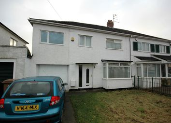 Thumbnail 4 bedroom semi-detached house for sale in Reynolds Avenue, West Moor, Newcastle Upon Tyne