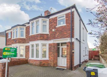 Thumbnail 3 bed semi-detached house for sale in Lon Y Groes, Heath, Cardiff