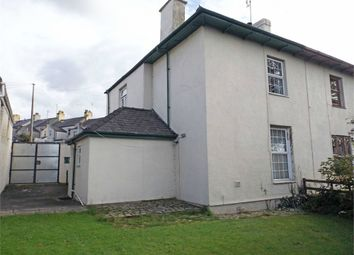 Thumbnail 3 bed semi-detached house for sale in South Road, Caernarfon, Gwynedd