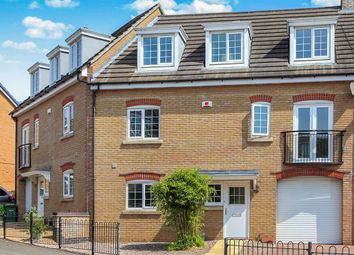 Thumbnail 4 bedroom terraced house for sale in Lady Charlotte Road, Hampton Hargate, Peterborough
