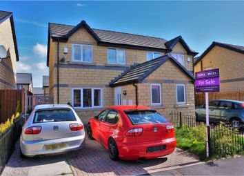 Thumbnail 3 bedroom semi-detached house for sale in Redwood Crescent, Bradford