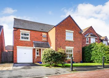Thumbnail 4 bed detached house for sale in Quins Croft, Leyland