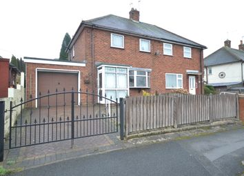 Thumbnail 2 bed semi-detached house for sale in Cedar Road, Chesterton, Newcastle-Under-Lyme