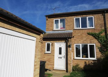 Thumbnail 3 bedroom semi-detached house for sale in Buttercup Close, Stamford