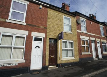 Thumbnail 3 bed terraced house to rent in Walpole Street, Derby