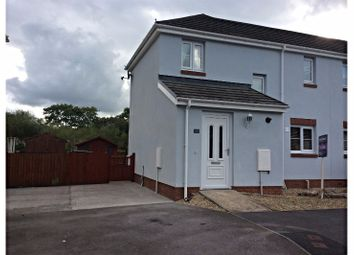 Thumbnail 3 bed semi-detached house for sale in Fforest Fach, Ammanford