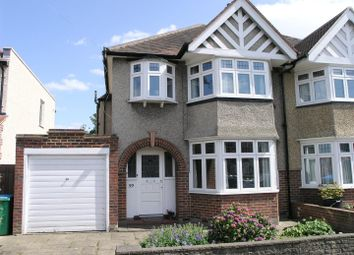 Thumbnail 3 bed semi-detached house for sale in Strathearn Avenue, Whitton, Twickenham