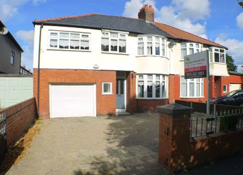 Thumbnail 4 bed semi-detached house for sale in Booker Avenue, Allerton, Liverpool
