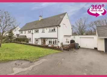 Thumbnail 3 bed semi-detached house for sale in Blackbirds Close, Pentre Lane, Llantarnam, Cwmbran