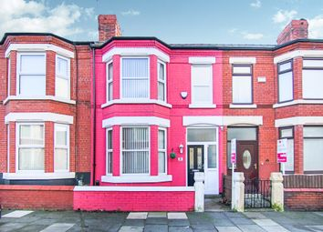 Thumbnail 3 bed terraced house for sale in Broughton Road, Wallasey