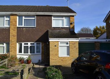 Thumbnail 3 bed semi-detached house for sale in Kershaw Road, Swindon