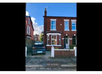 Thumbnail 4 bedroom semi-detached house to rent in Abington Road, Sale